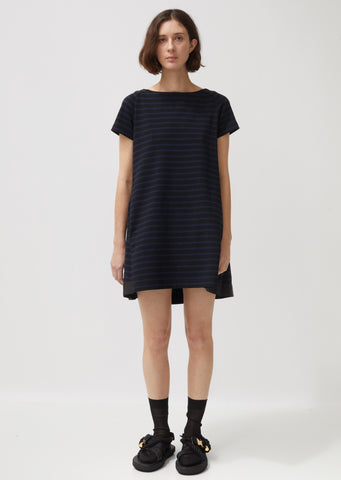 Dixie Stripe Cotton Dress