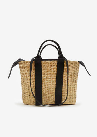 Medium Caba Straw Bag