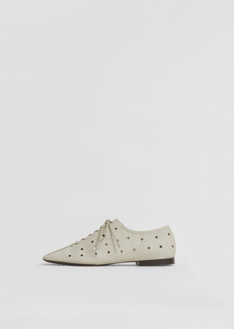 Flat Derbies — Moss Grey