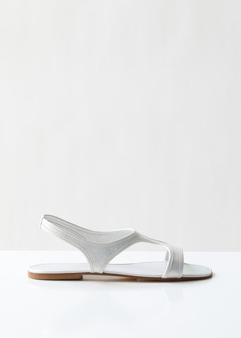 Corazon Iridescent Sandals