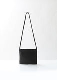 Black Sacoche Shoulder Bag