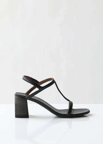 Stuzzico Heeled Leather Sandal