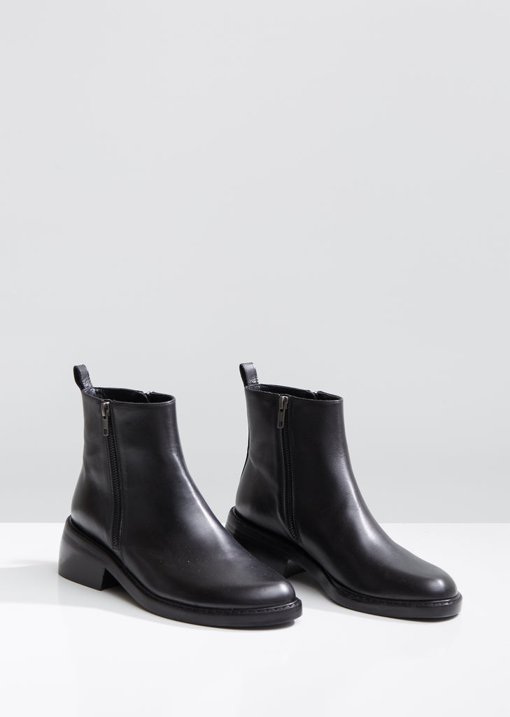 Double Side Zipper Ankle Boots