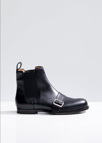 Chelsea Ankle Boots with Buckle