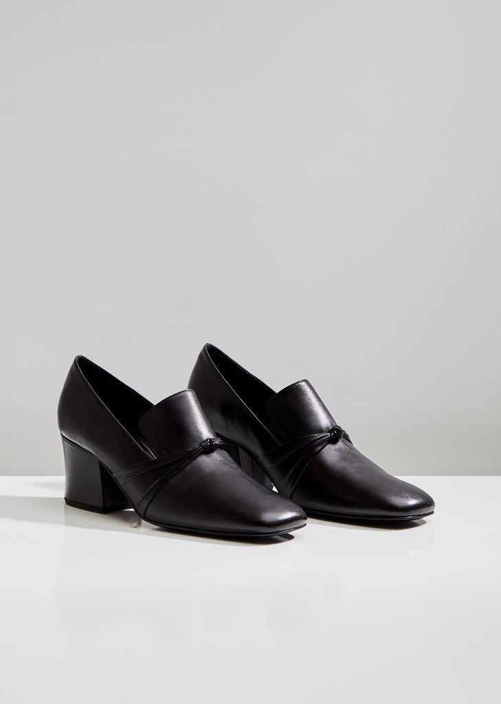 Stewardess Leather Pumps