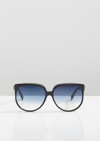 Oversized Acetate Gradient Sunglasses