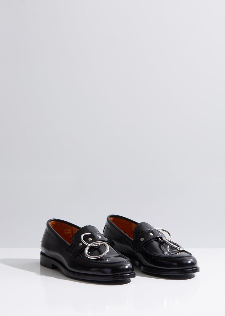 Patty Ring Leather Loafer
