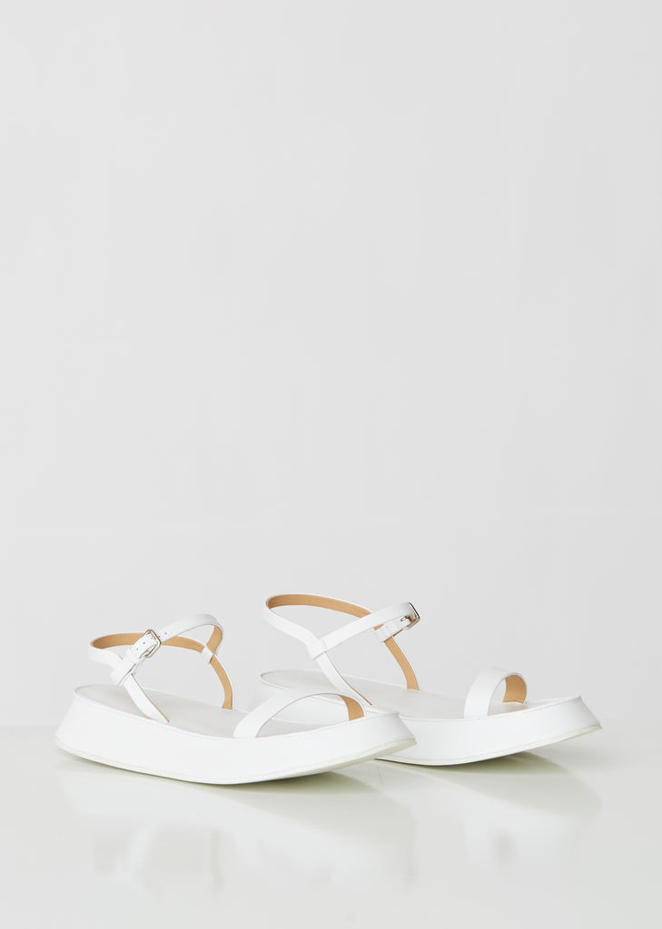 Monochrome Platform Leather Sandals