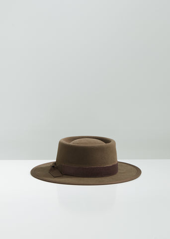 Belle Starr Sueded Felt Hat