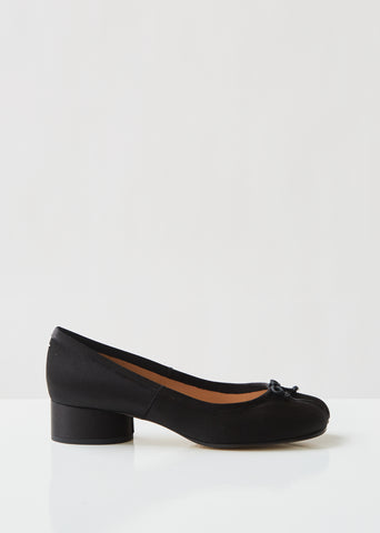 Tabi Satin Ballet Pumps