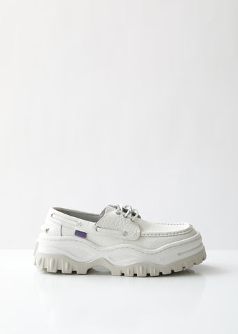 Mykonos Tumbled Platform Loafers