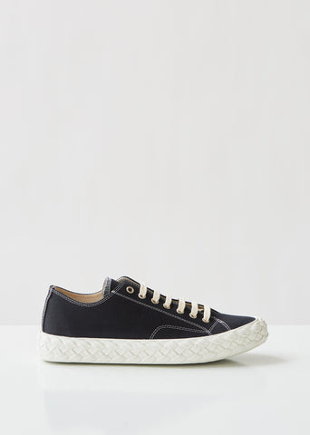 Canvas Braided Sneakers