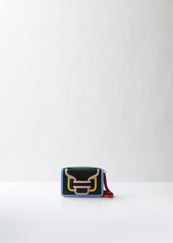 Alpha Colorblock Shoulder Bag