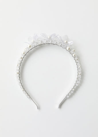 Flower Crystal Tiara