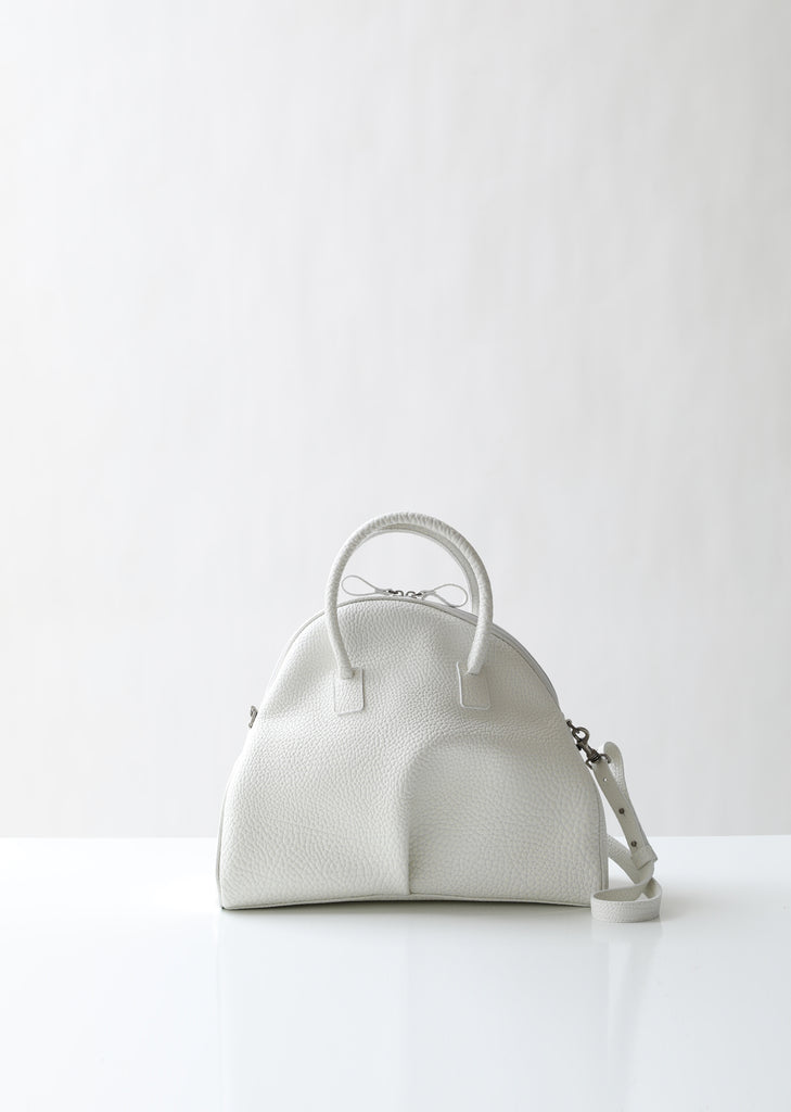 Budino Pebbled Leather Bag