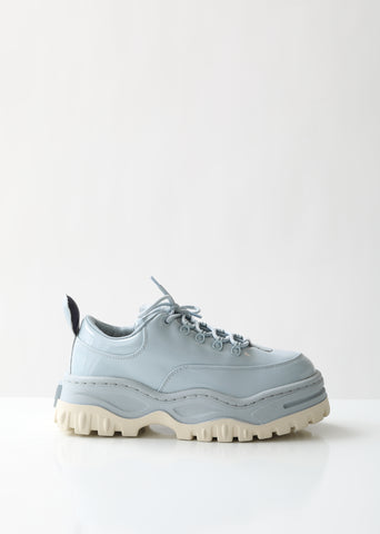 Angel Patent Lace-Up Sneakers