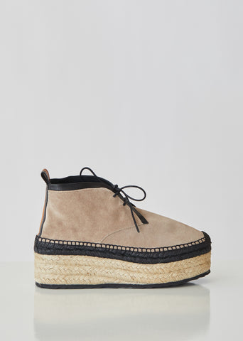 Alpha Espadrille Ankle Boots