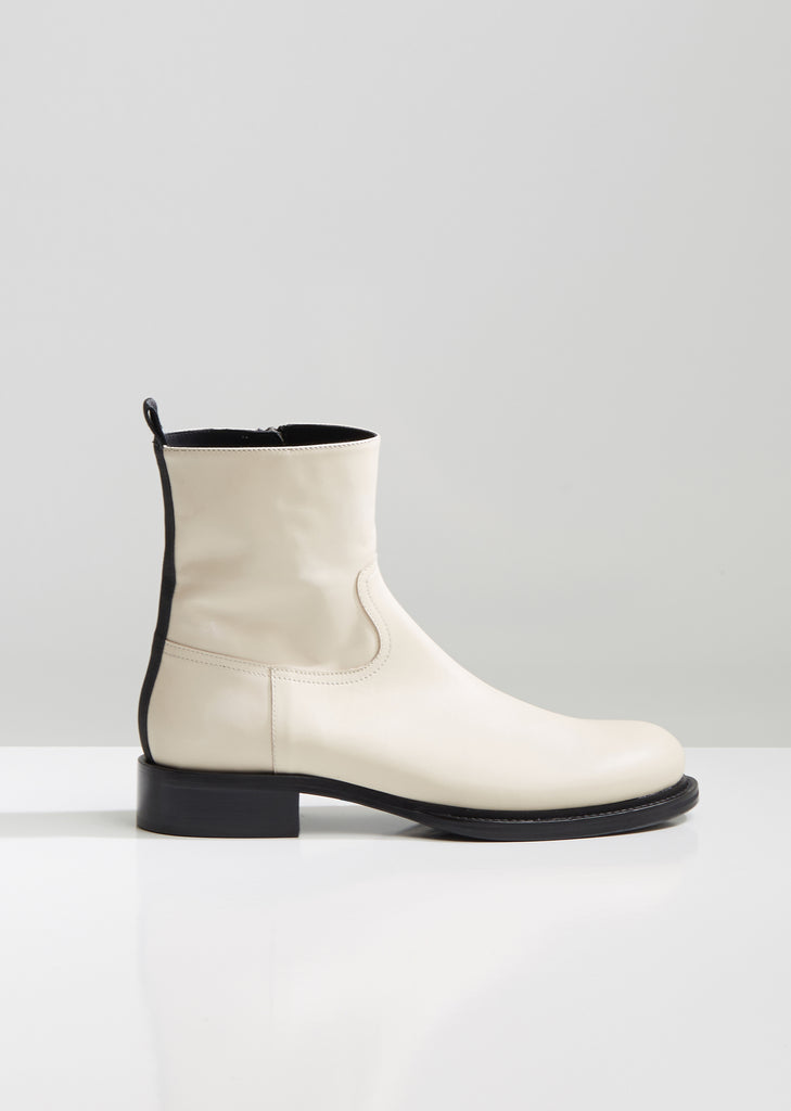 Vitello Lucido Ankle Boots