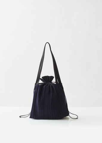 Large Square Pleats Bag