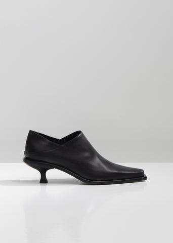Vitella Seta Crust Heeled Mules