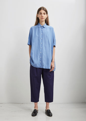 Silk Square Shirt