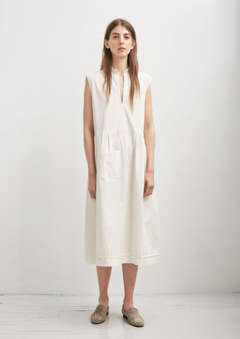 Organic Sleeveless Smock Dress