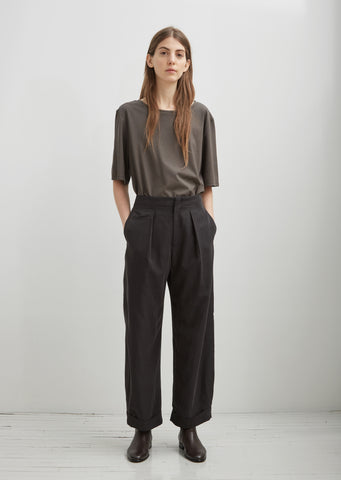 Fuji Silk Army Trouser