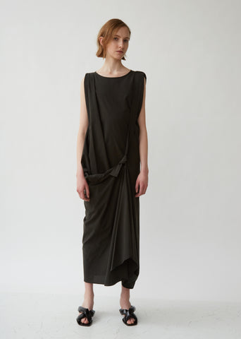 Asymetrical Dress with Strap
