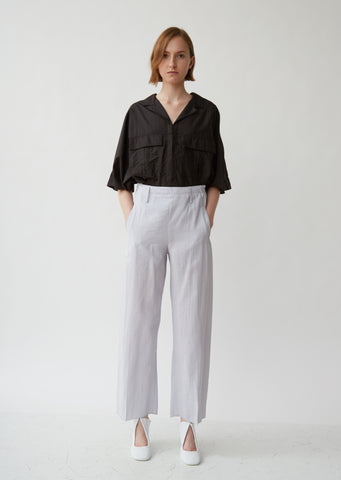 Cropped Elasticated Pants