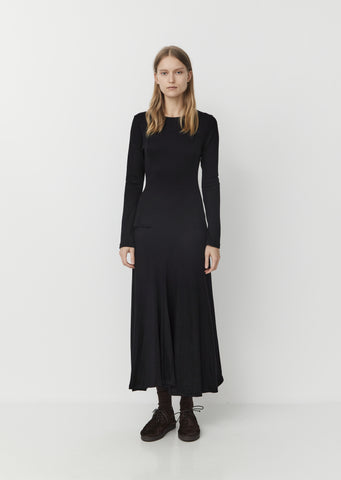 Wool Longsleeve Dress