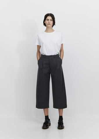 Women's Melton Pants — Heather Charcoal
