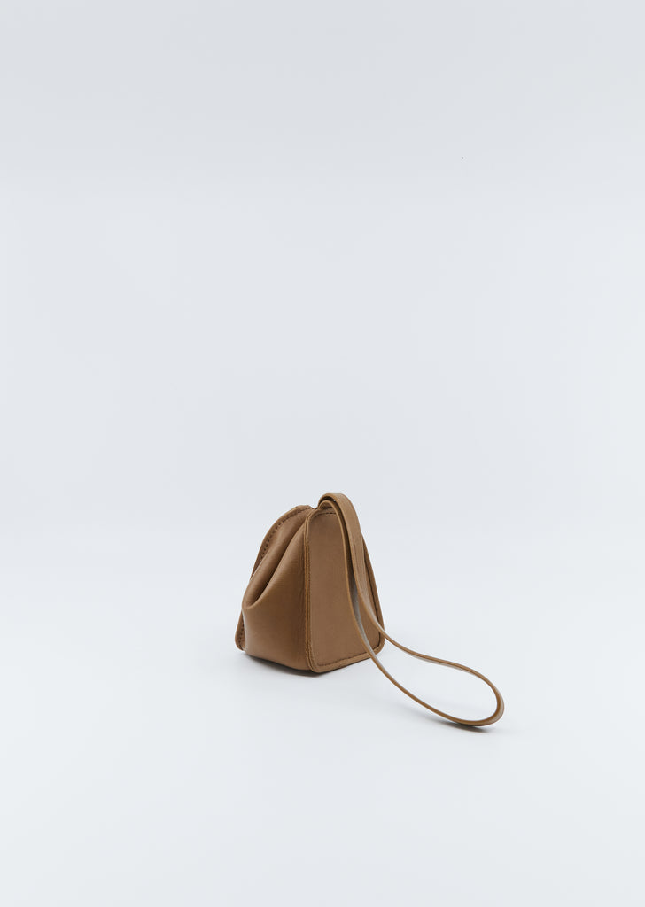 Folded Coin Purse — Tobacco