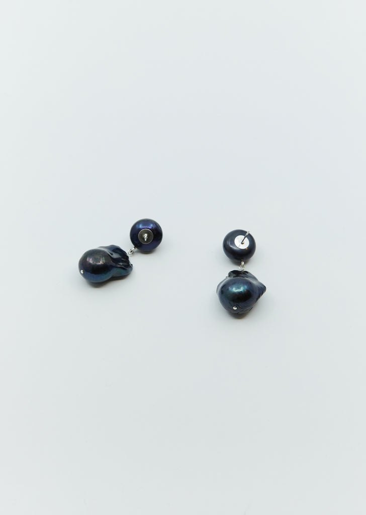 Essential Black Pearl Earrings