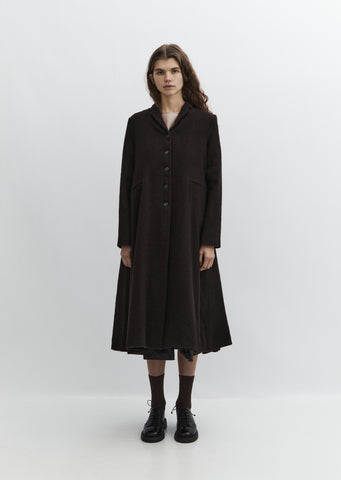 Long Flared Coat