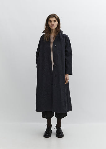 Crinkle Long Coat