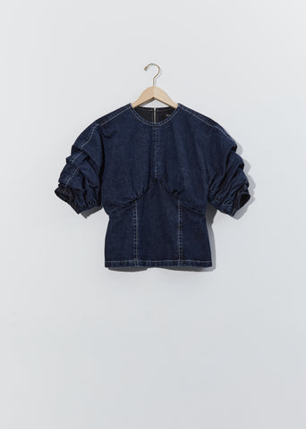 Cotton Denim Top
