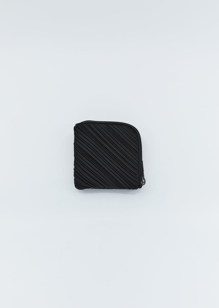 Pleated Small Wallet