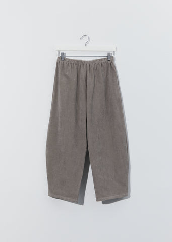 Cotton Pullon Trousers — Ecru