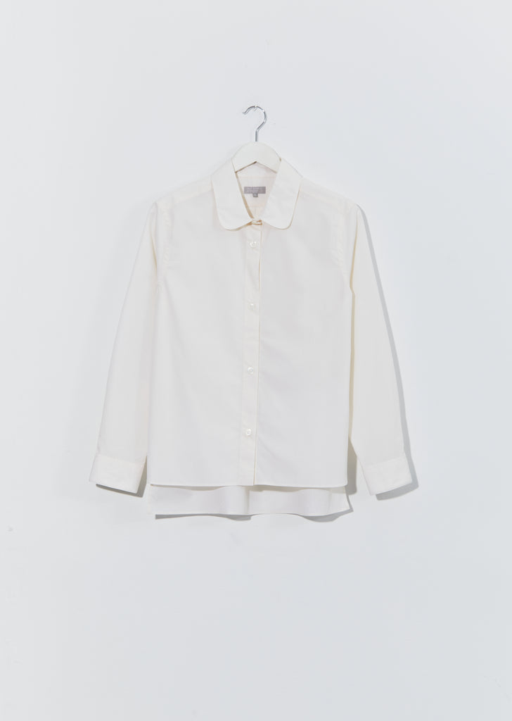 Step Hem Cotton Shirt