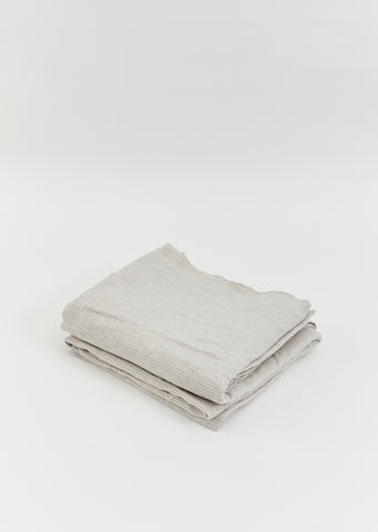 Washed Waffle Throw