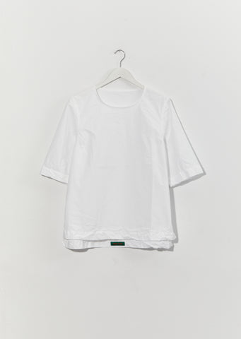Simple Top - Cot — White