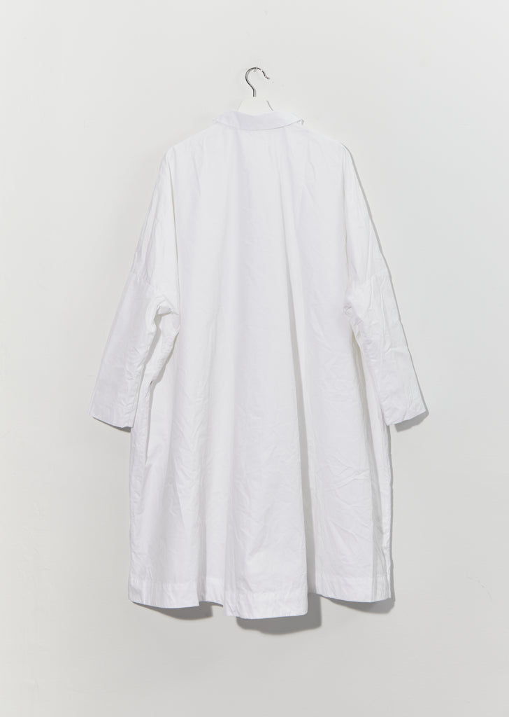 Atomless Coat - Pop Heavy — White
