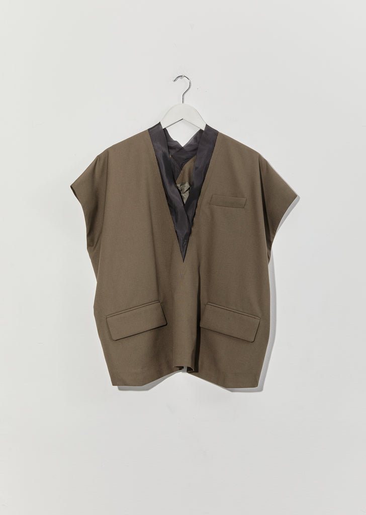 Suiting Pullover — Khaki