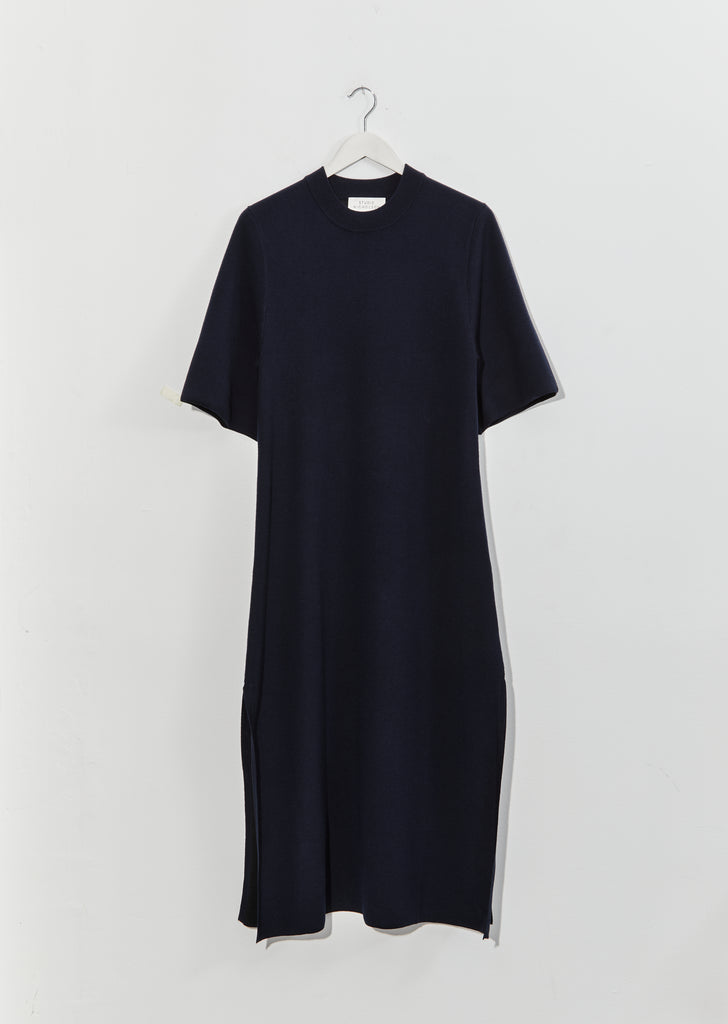 Canzi Short Sleeve Knit Dress