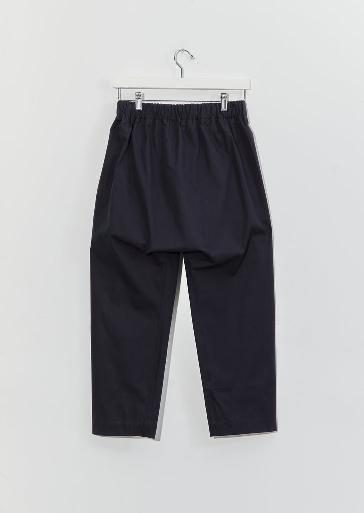 Punch Cotton Twill Pants — Midnight