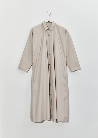 Drew Cotton Poplin Shirt Dress