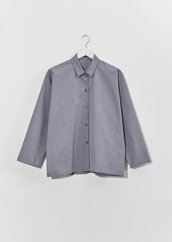 Bird Twisted Cotton Shirt