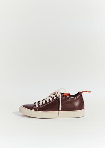 Fast Leather Sneakers —Auburn