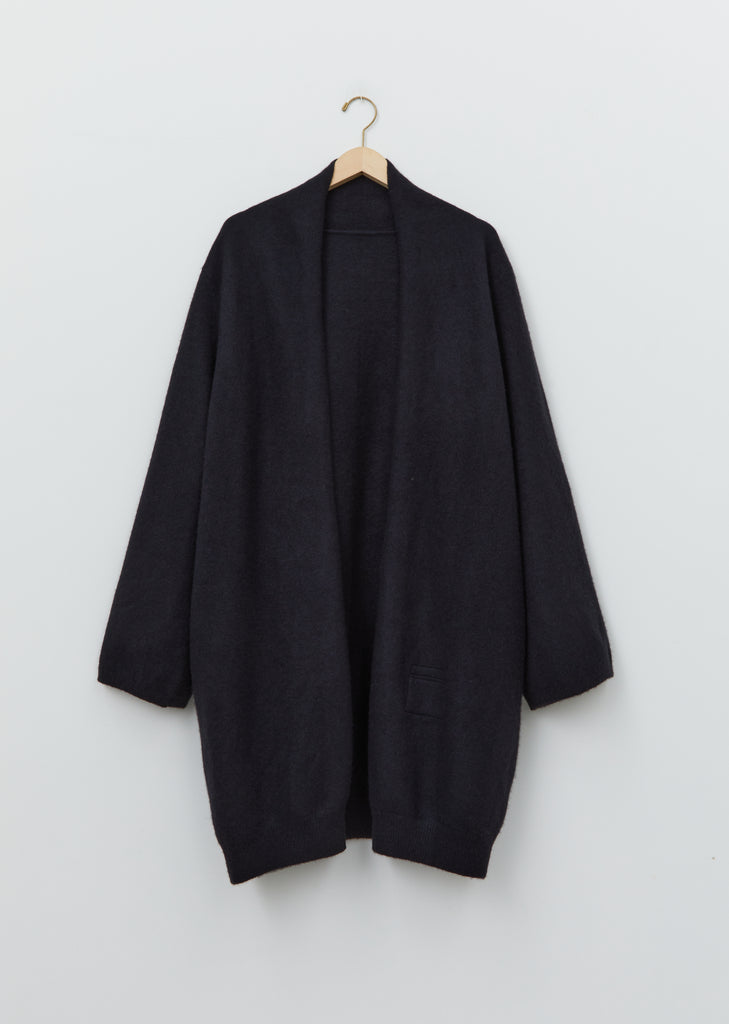 Cashmere Single Felted Wide Coat