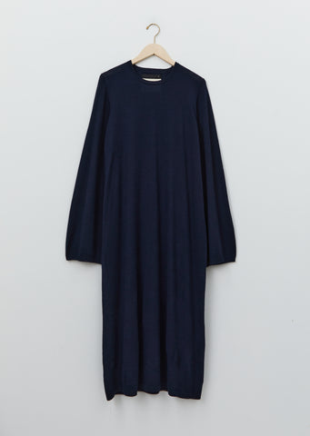 Cashmere Long Sleeve Bag Dress